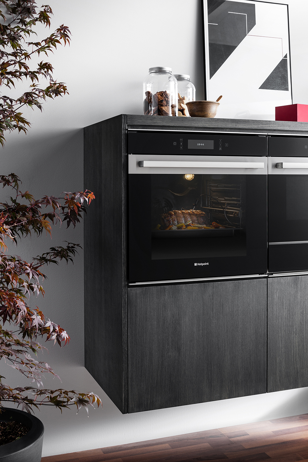 Hotpoint Class 9 SI9891SCIX single oven