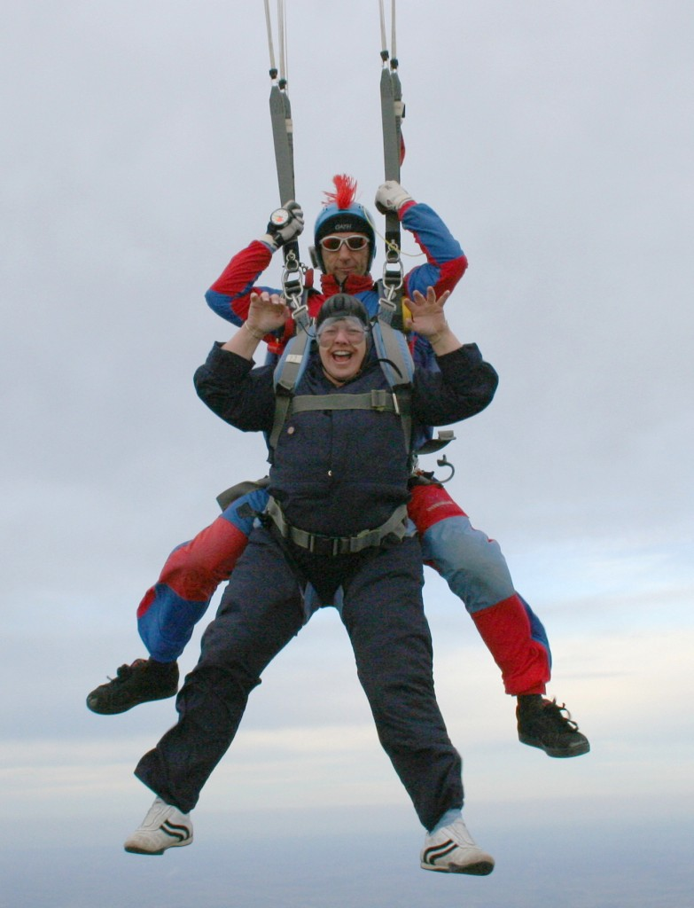 Gin Parachute Jump