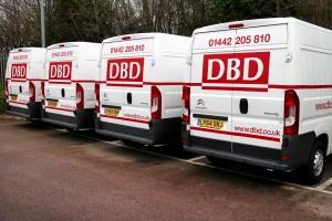 DBD vans